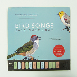 Bird Songs Calendar