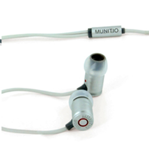 MUNITIO Billets 9mm Earphones